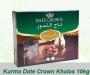 Kurma Date Crown Khalas, 1 Karton 10 kg (pack 1 kg)