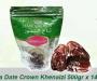 Kurma Date Crown Khenaizi, 1 Dus 7kg (isi 14 pack @500gr)