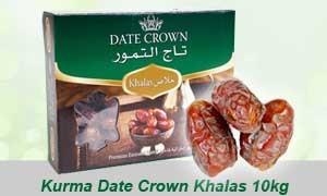 kurma date crown khalas 10kg