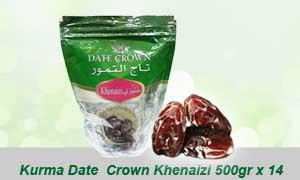 kurma date crown khenaizi 500gr