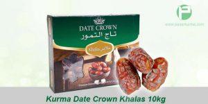 Grosir Kurma Date Crown Khalas, 1 Dus 10kg (isi 10 pack @1kg)