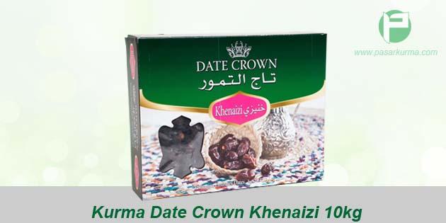 jual kurma date crown khenaizi 1 kg