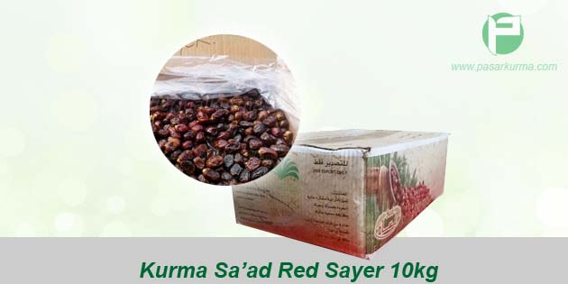 jual kurma saad red sayer 10kg